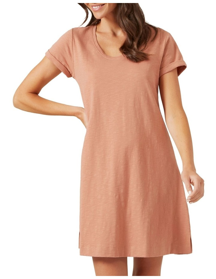 A Line Relaxed Tee Dress image 1