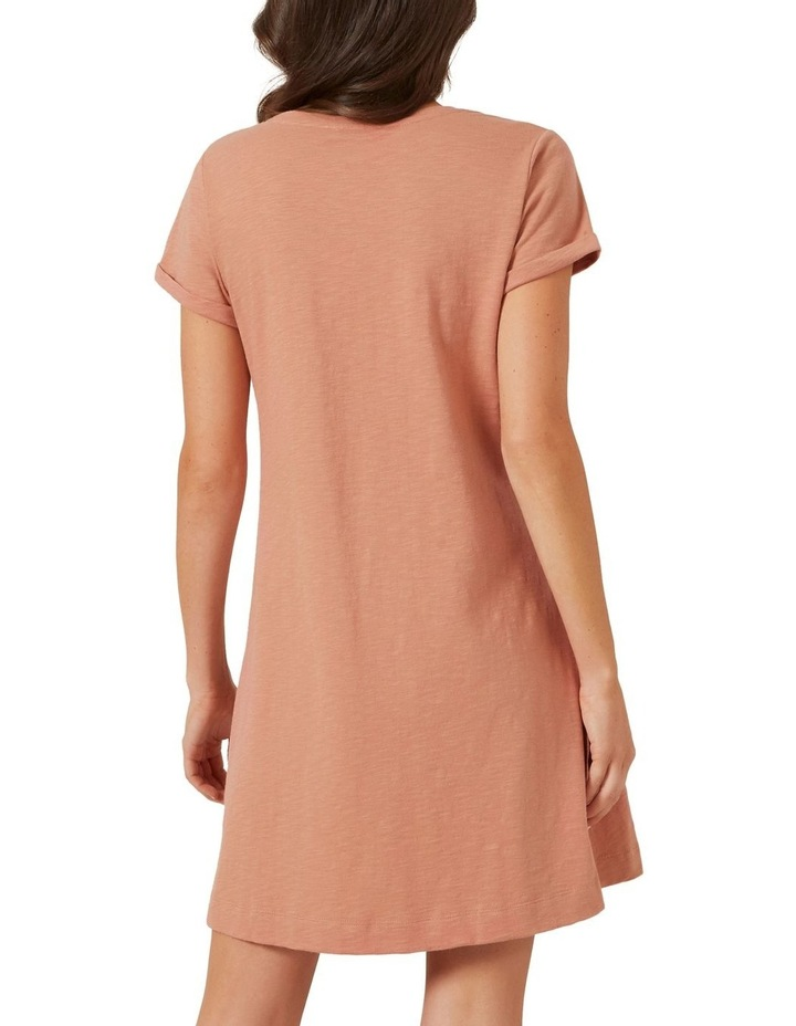 A Line Relaxed Tee Dress image 3