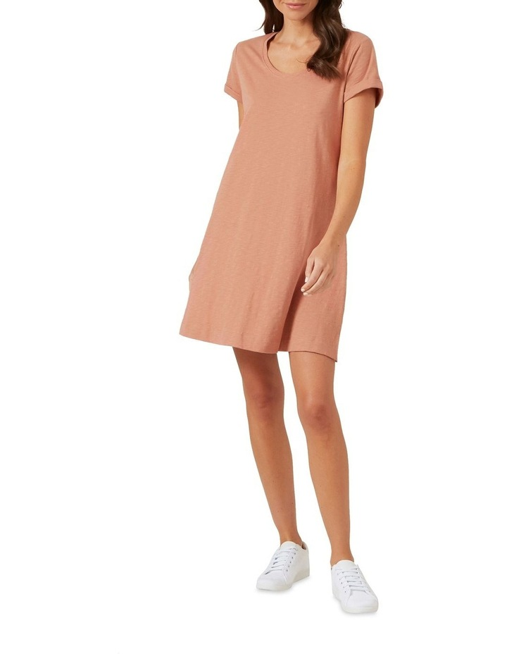 A Line Relaxed Tee Dress image 5
