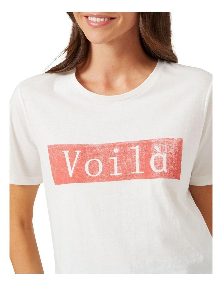 Voila Tee image 4