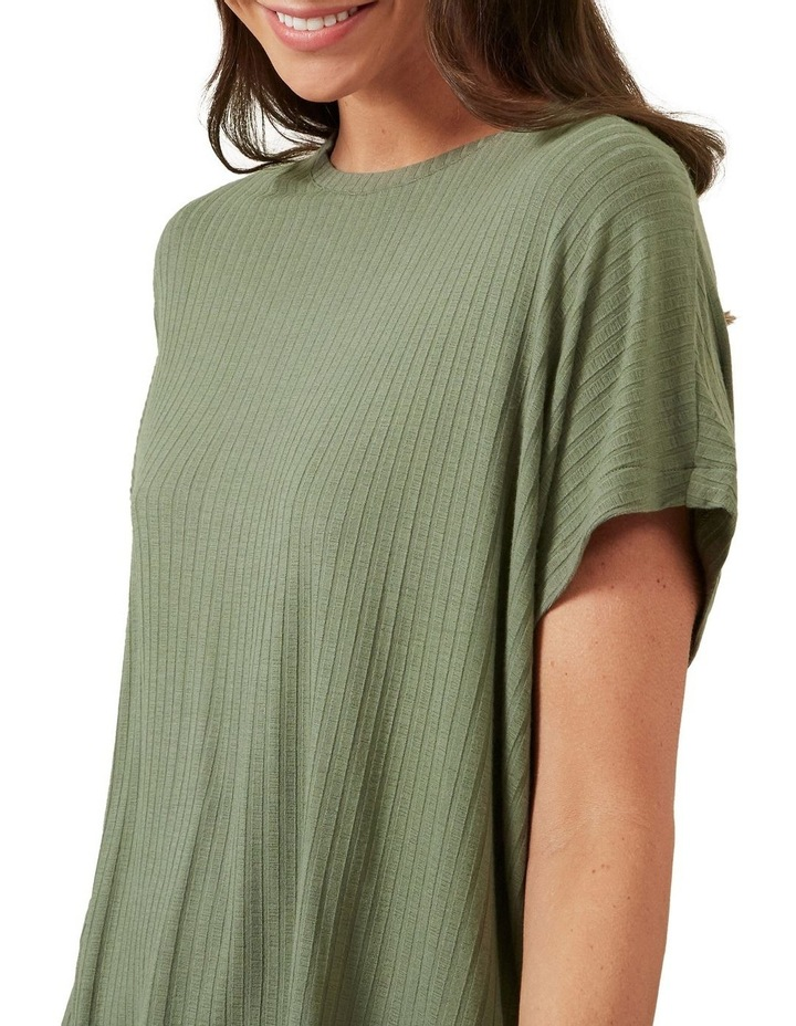 Ribbed Relaxed Tee image 4