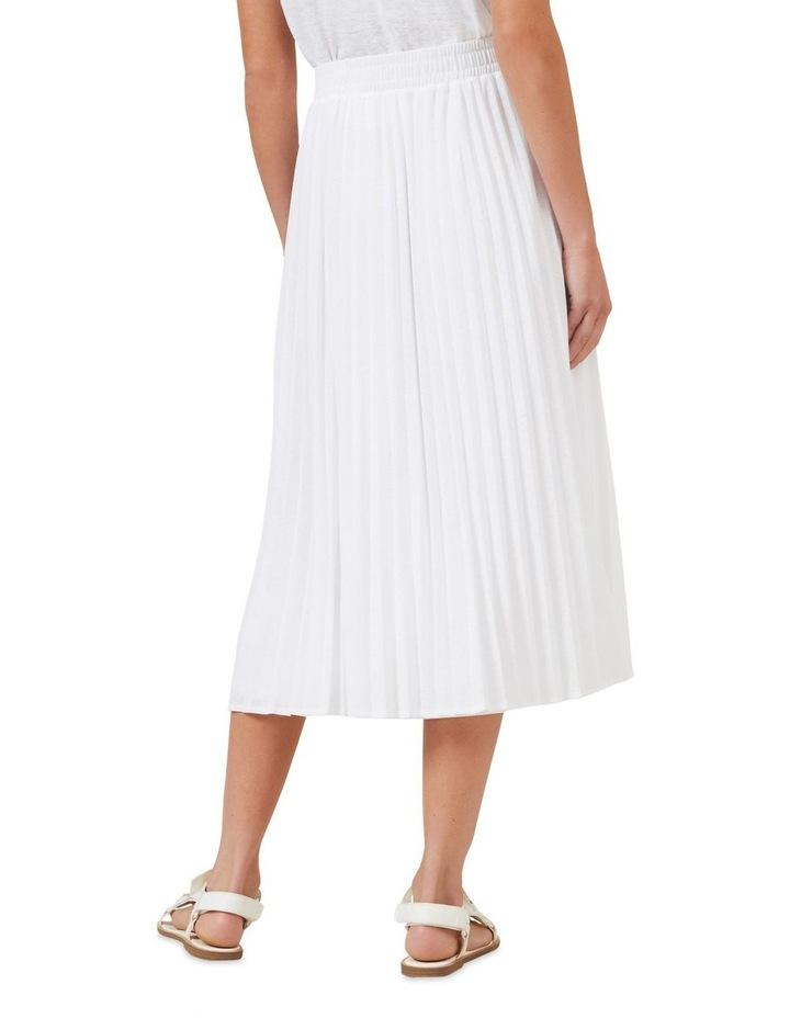 Pleated Textured Skirt image 3