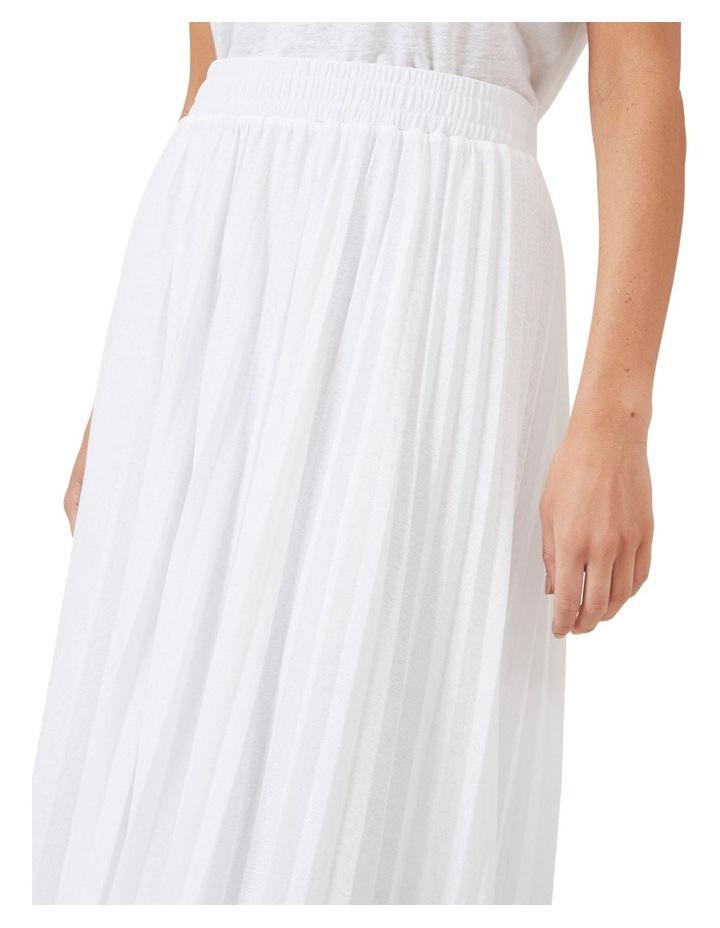 Pleated Textured Skirt image 4