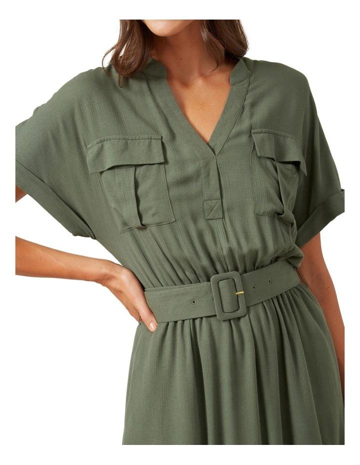 Utility Shirt Dress image 4