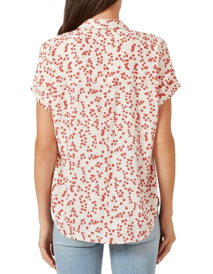 Washed Floral S/S Shirt image 3