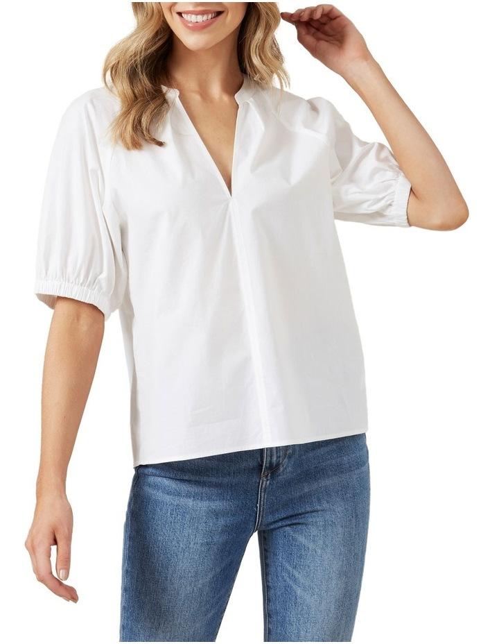 Gathered Sleeve Blouse image 1