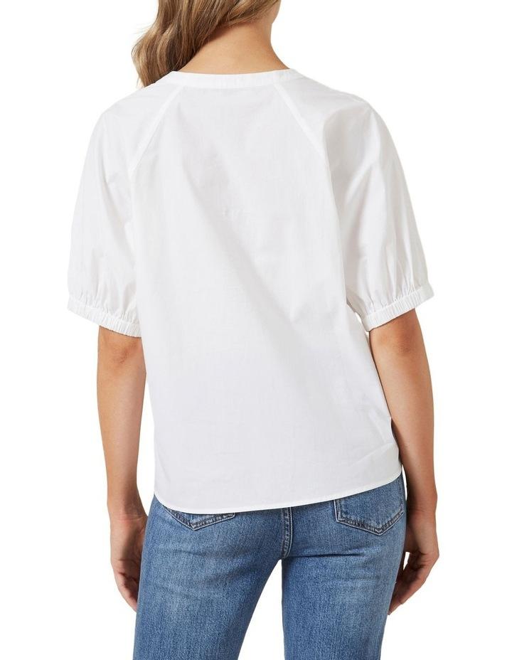 Gathered Sleeve Blouse image 3