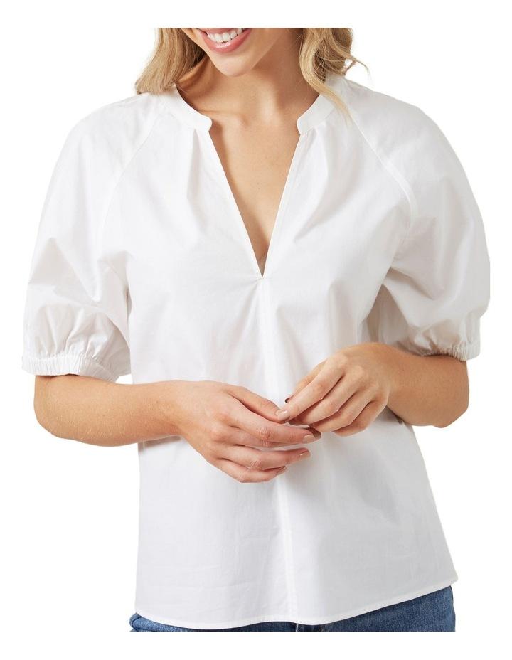 Gathered Sleeve Blouse image 4