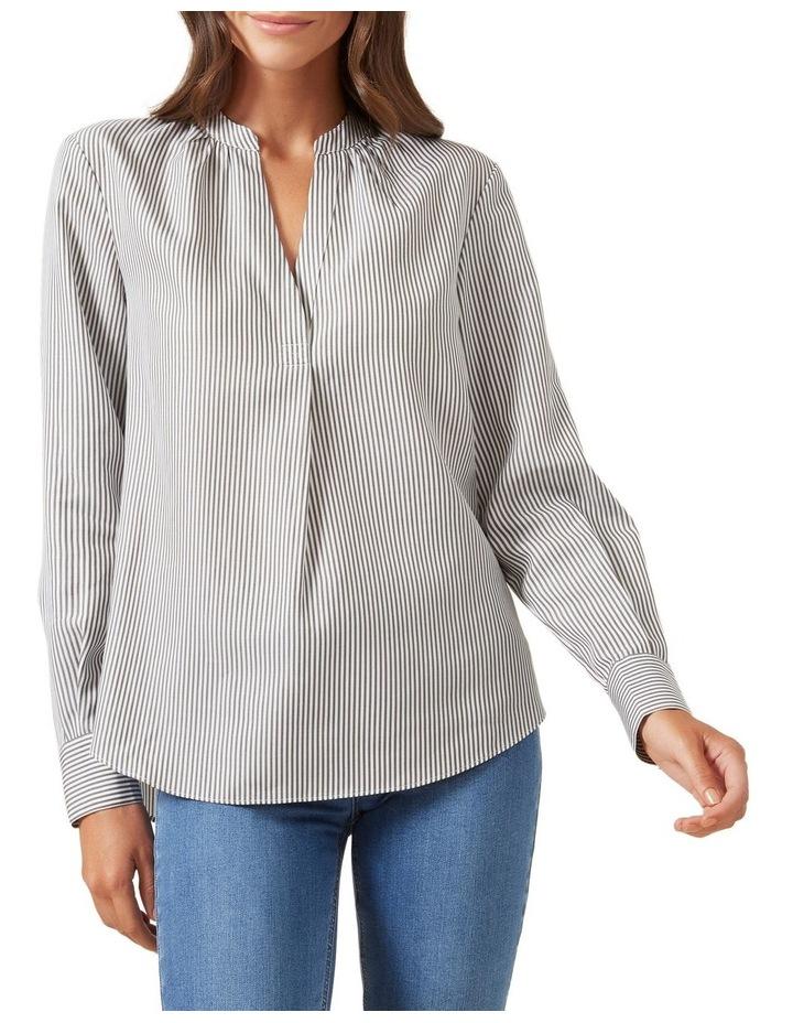 Stripe Popover Shirt image 1