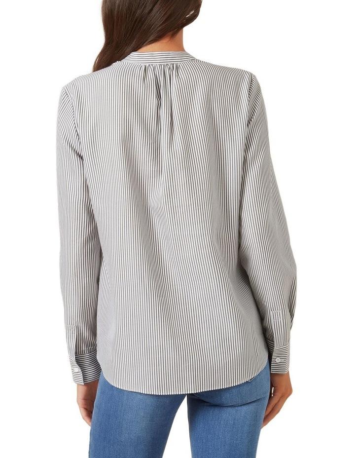 Stripe Popover Shirt image 3