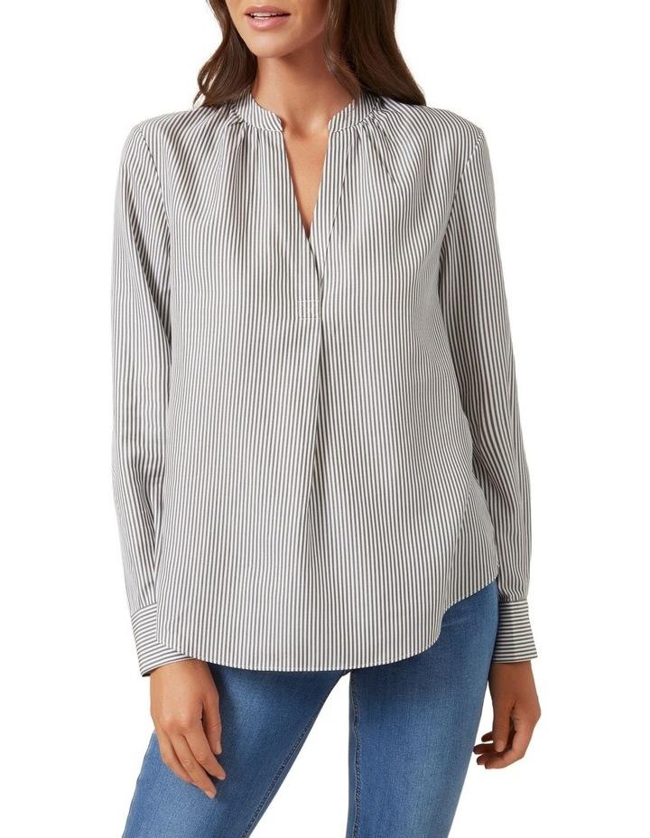 Stripe Popover Shirt image 4