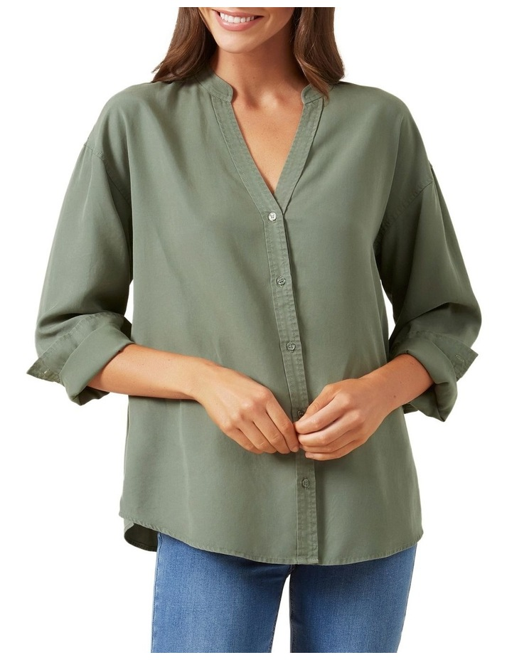 Overdyed Relaxed Shirt image 1