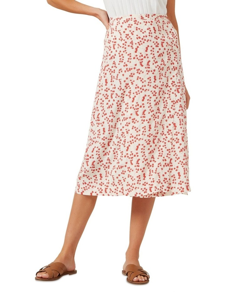 Floral Button Down Skirt image 1