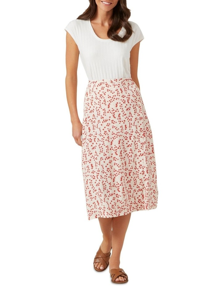 Floral Button Down Skirt image 2
