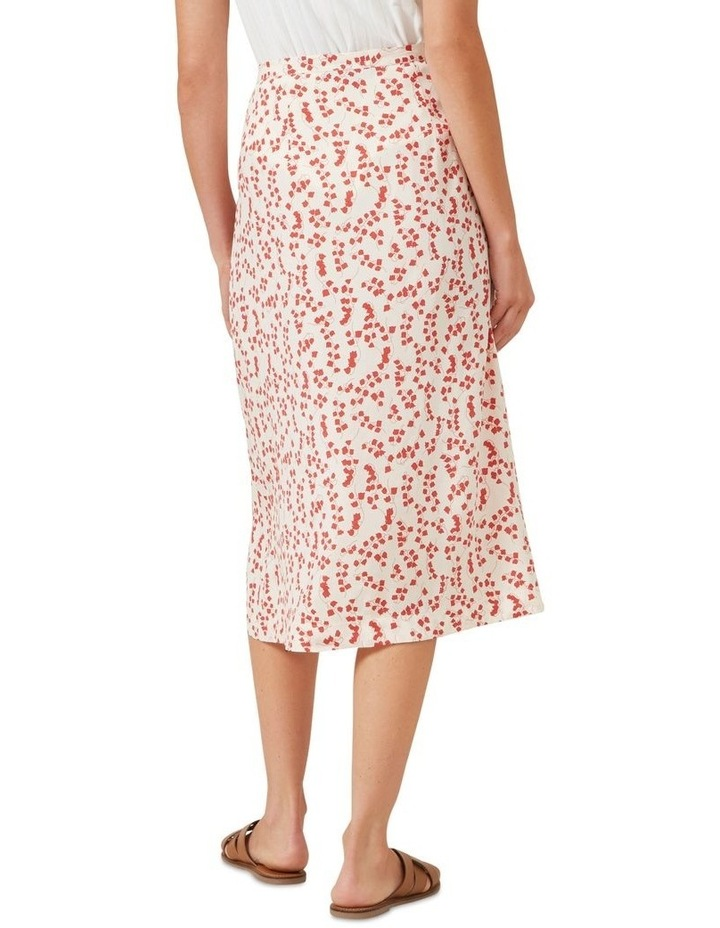 Floral Button Down Skirt image 3
