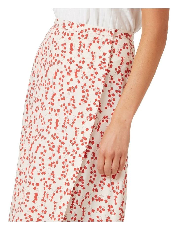 Floral Button Down Skirt image 4