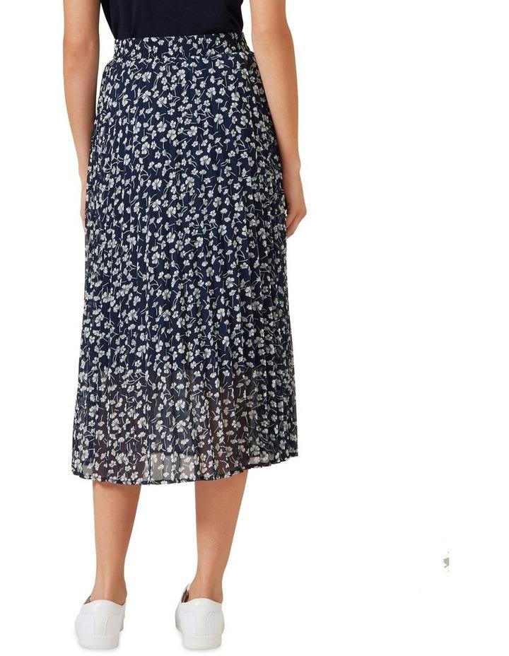 Floral Pleated Midi Skirt image 3