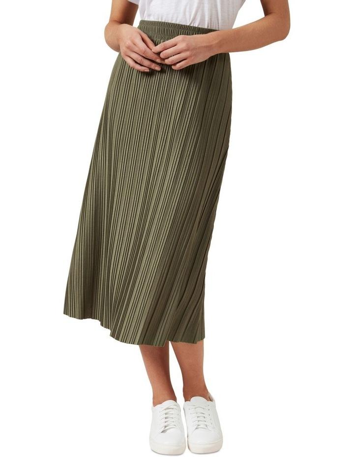 Jersey Midi Skirt image 1