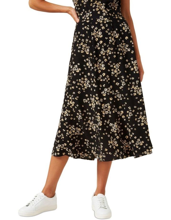Retro Ditsy Midi Skirt image 1