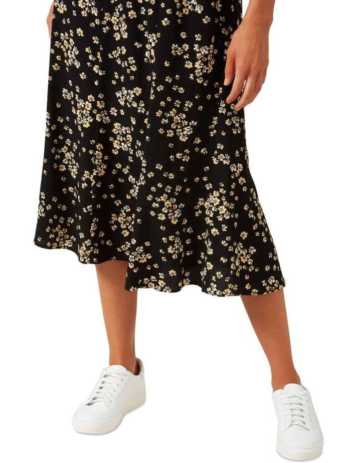 Retro Ditsy Midi Skirt image 5