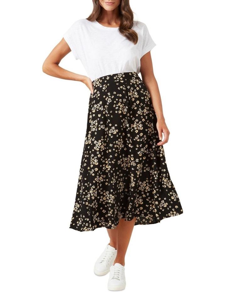 Retro Ditsy Midi Skirt image 6