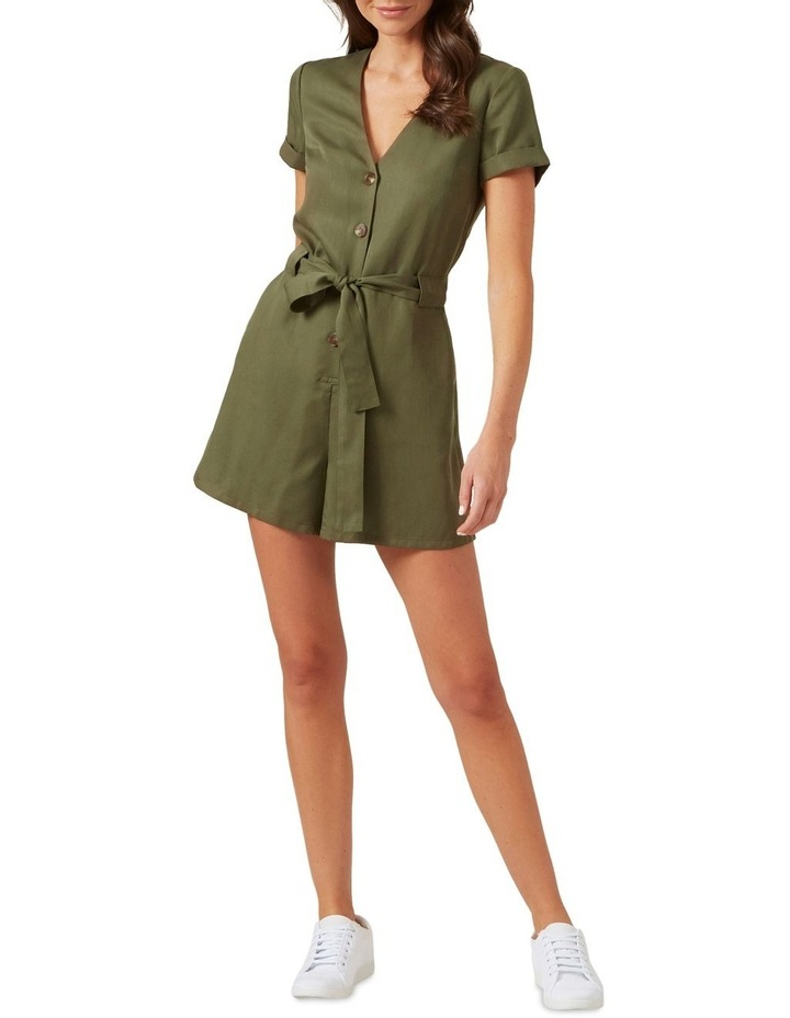Button Up Playsuit image 2