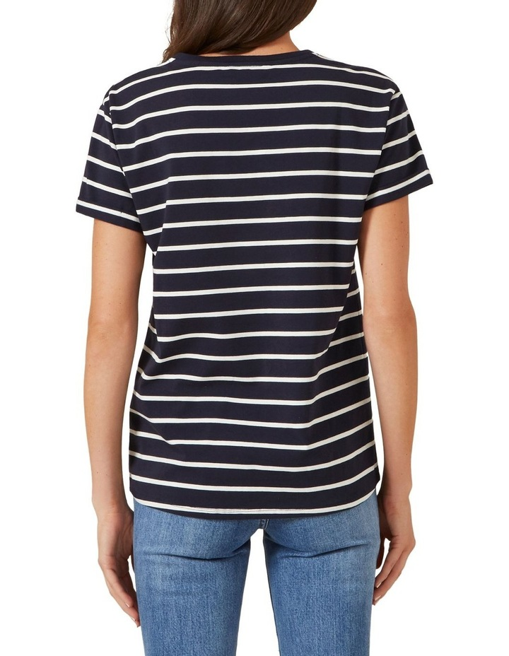 Je'taime Embroidered T Shirt image 3