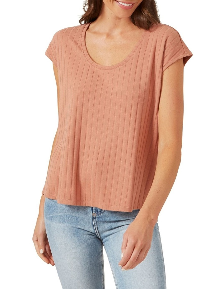 Ribbed Sleeveless Tee image 1