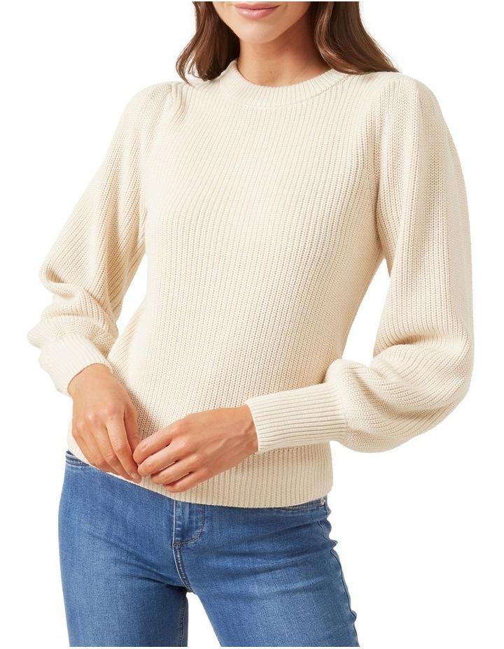 Puff Sleeve Knit image 1