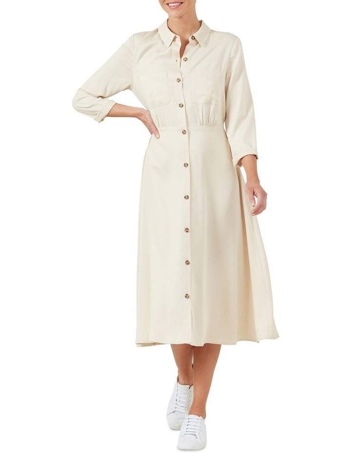 Button Down Shirt Dress image 1