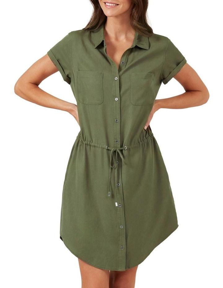 Tencel Shirt Dress image 1