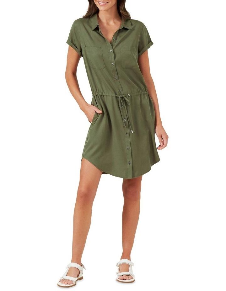 Tencel Shirt Dress image 2