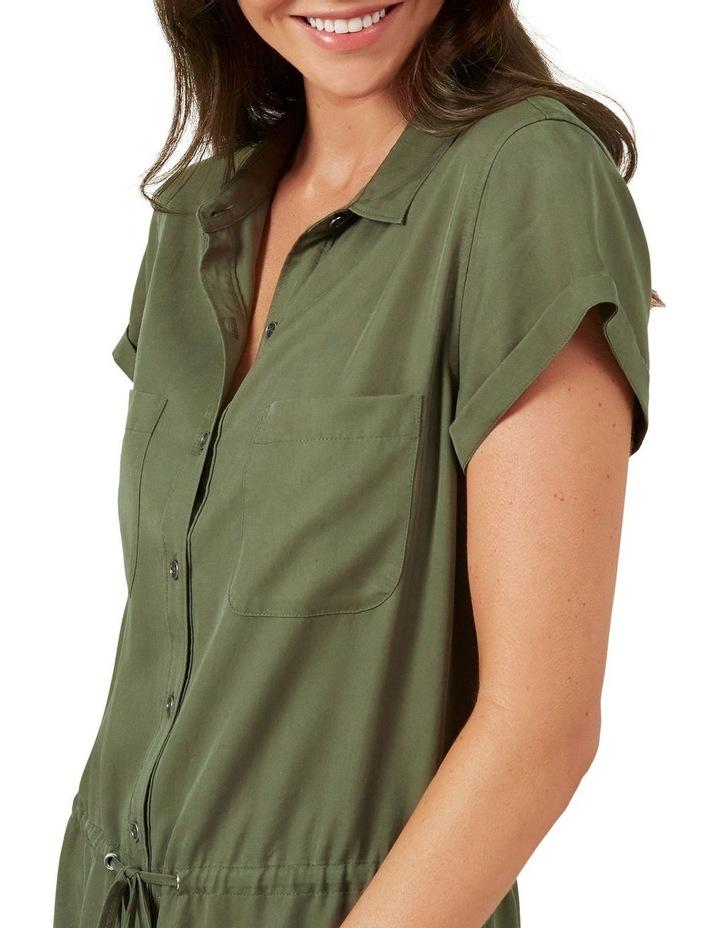 Tencel Shirt Dress image 4