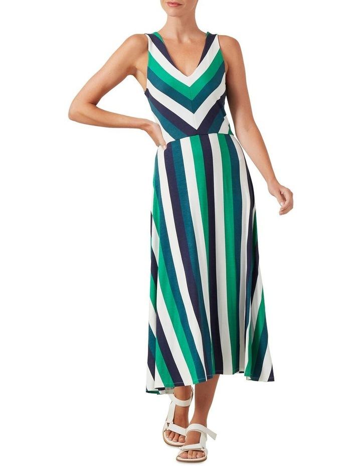 Stripe Jersey Dress image 1