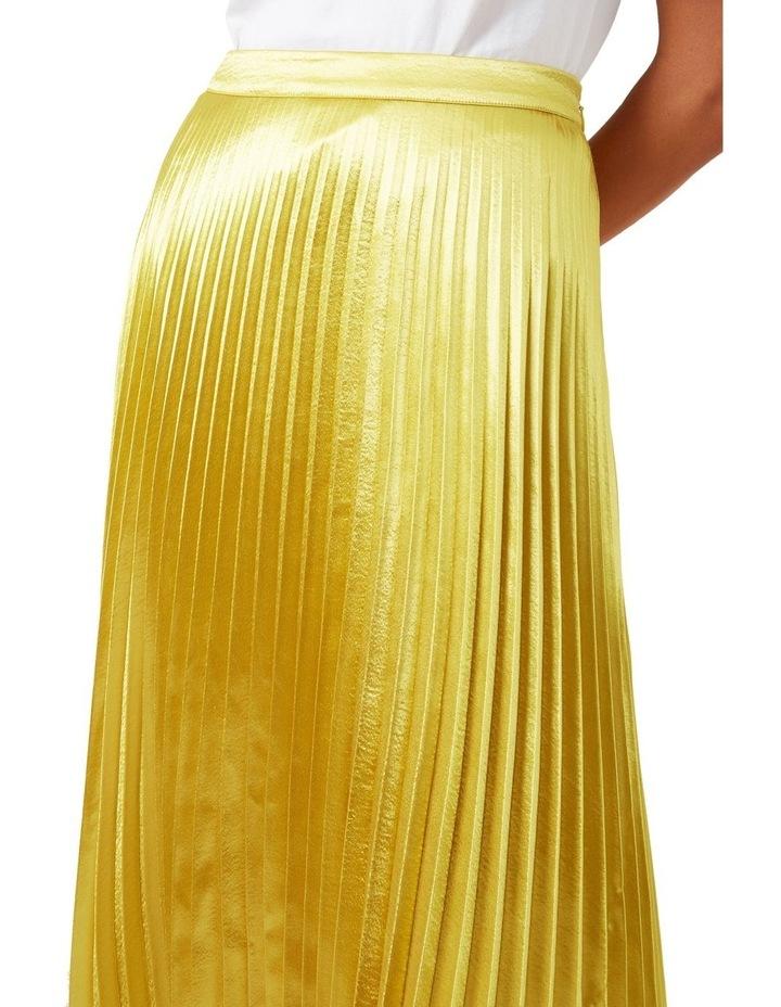 Metallic Pleated Skirt image 5