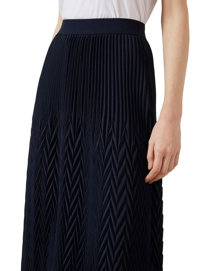 Chevron Midi Skirt image 4