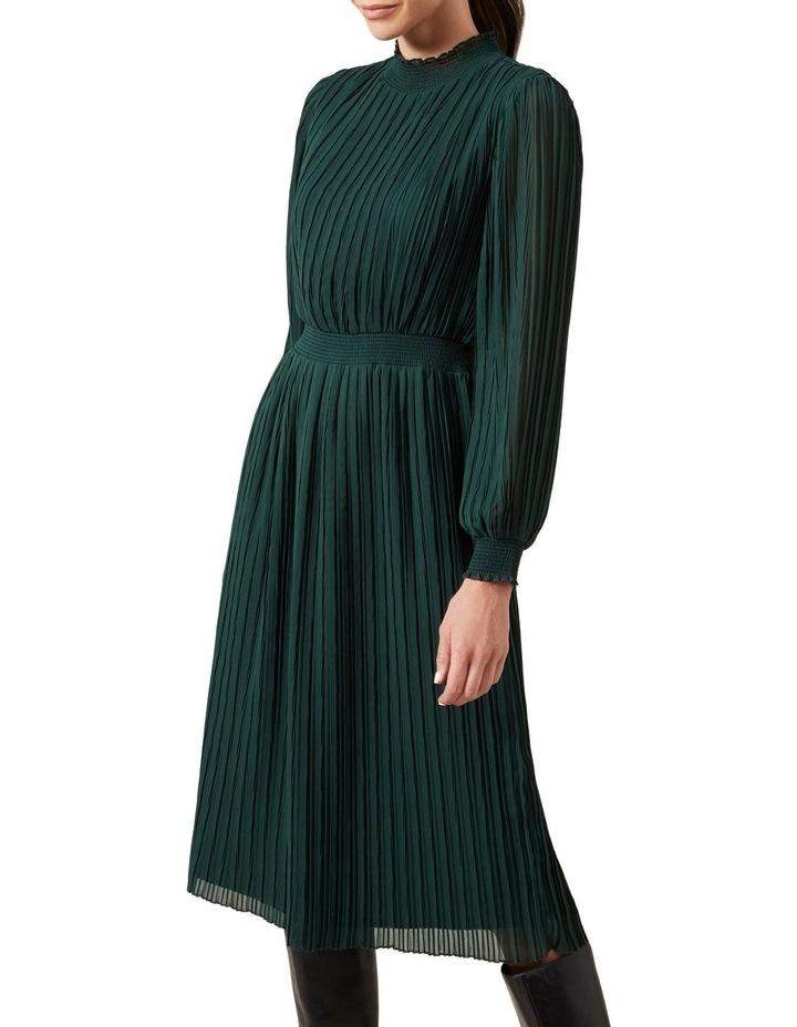 High Neck Midi Dress image 1