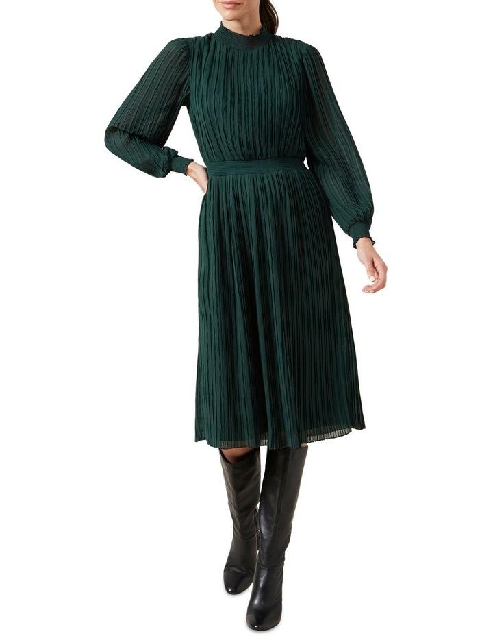 High Neck Midi Dress image 2
