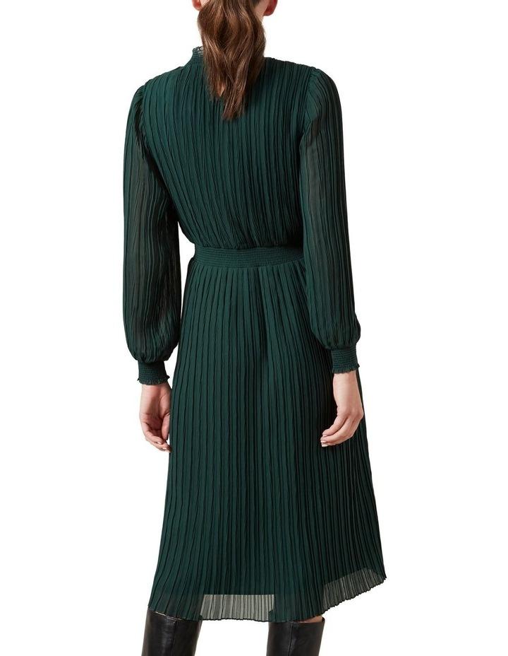 High Neck Midi Dress image 3