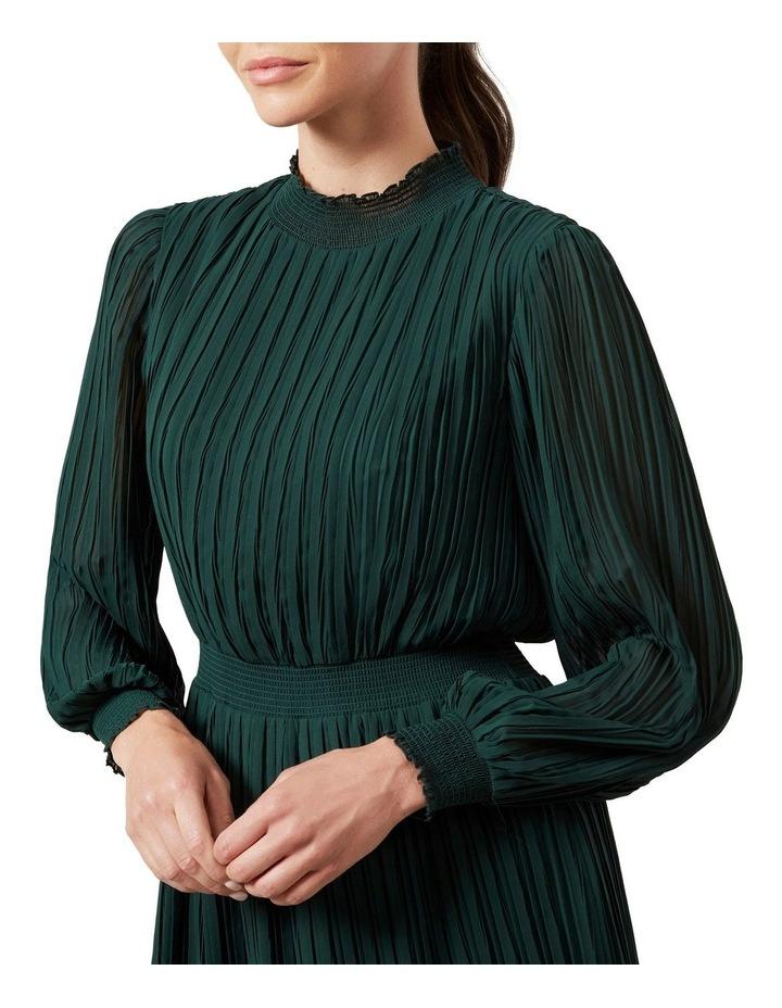 High Neck Midi Dress image 4