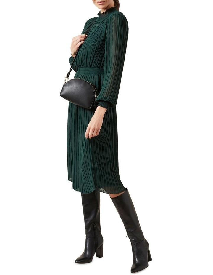 High Neck Midi Dress image 5