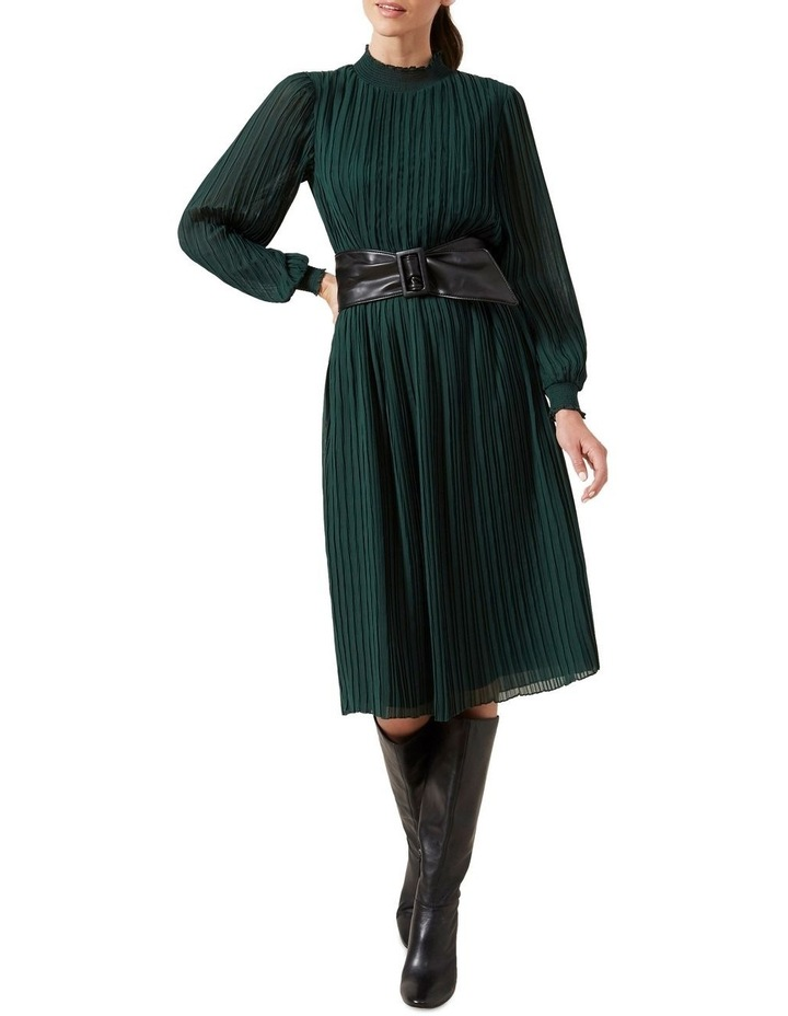 High Neck Midi Dress image 6