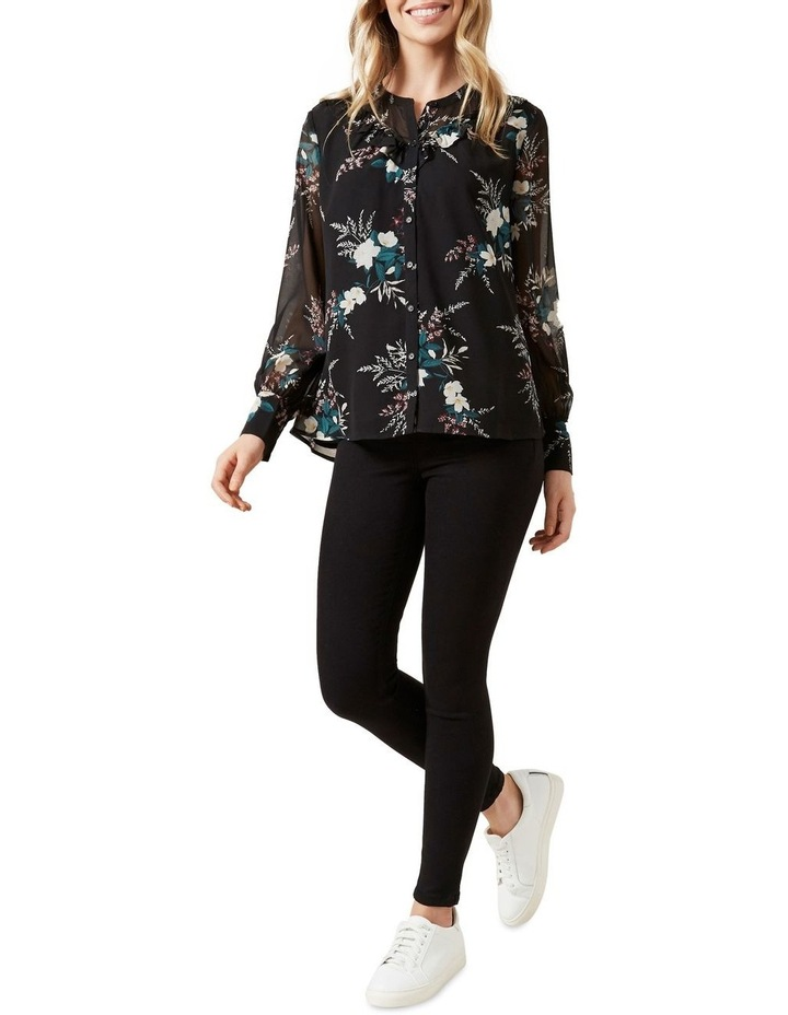 Winter Floral Frill Shirt image 2