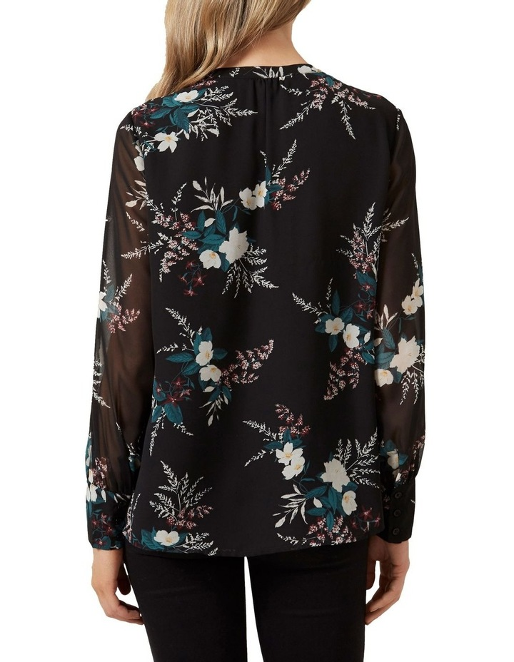 Winter Floral Frill Shirt image 3