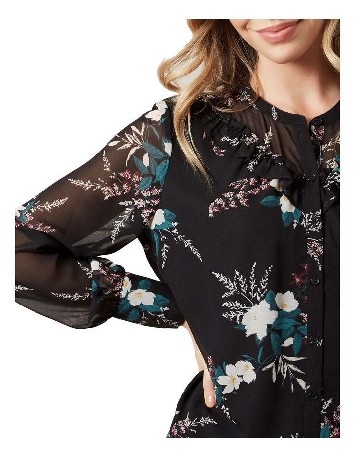 Winter Floral Frill Shirt image 4