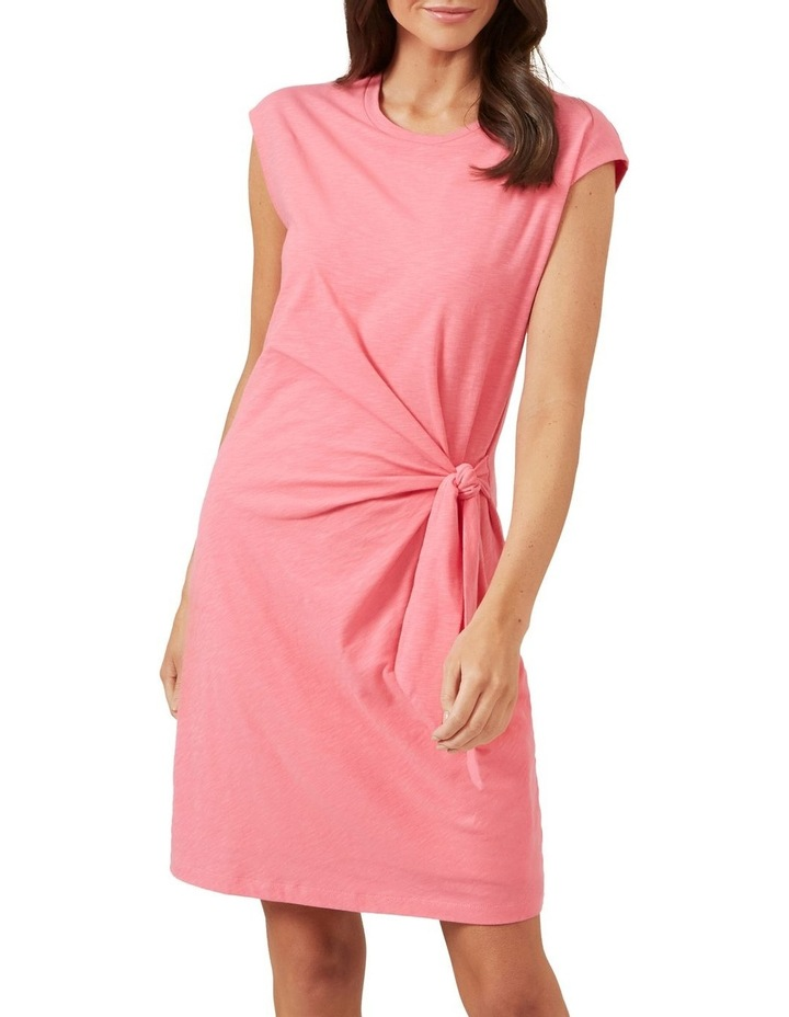 Tie Front Jersey Dress image 1
