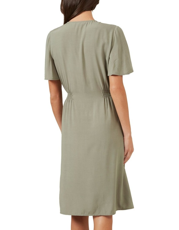 Flutter Sleeve Midi Dress image 3