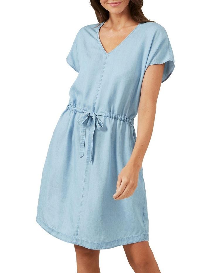 Chambray Mini Dress image 1