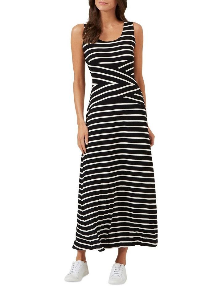 Stripe Jersey Maxi Dress image 2