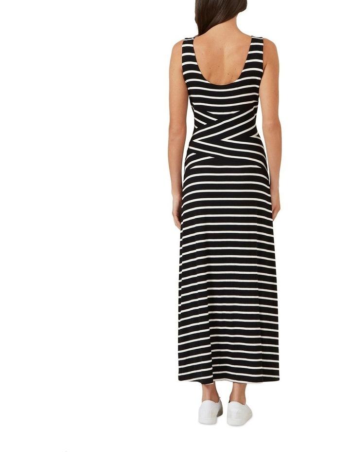 Stripe Jersey Maxi Dress image 3